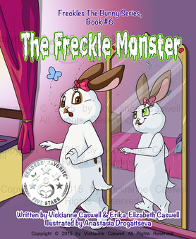 Photo of Freckles the Bunny Series, Book # 6: The Freckle Monster book cover
