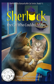 Photo of Sherlock the Remarkable Cat Series, Book # 1: Sherlock, the Cat Who Couldn't Meow